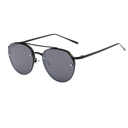 IFOUNDYOU Sonnenbrille Moderne Geometrische Metall Dünne Tempel Polarisierte Hexagonal Flache Linse für Frauen und Männer Sonnenbrille Billig