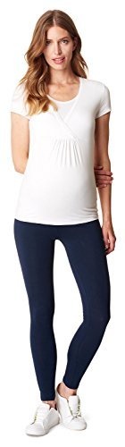 ESPRIT Maternity Damen Umstandsleggings Legging Otb M84122 Blau (Blue (Night Blue 486) 486), 40 (Herstellergröße: L/XL) … (Wash Dark Night)