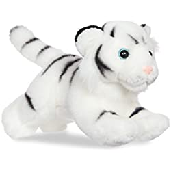 Aurora - Tigre de Peluche, colección Luv to Cuddle, 28 cm, Color Blanco (0060060692)
