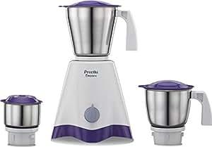 Preethi Crown MG-205 500-Watt Mixer Grinder (White/Purple)
