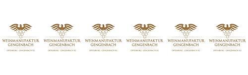 Weinmanufaktur Gengenbach Spätburgunder Rotwein Spätlese 2016 Halbtrocken (6 x 0.75 l)