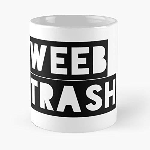 Weeb Tv Weebs Anime Trash - Best Gift Ceramic Coffee Mugs