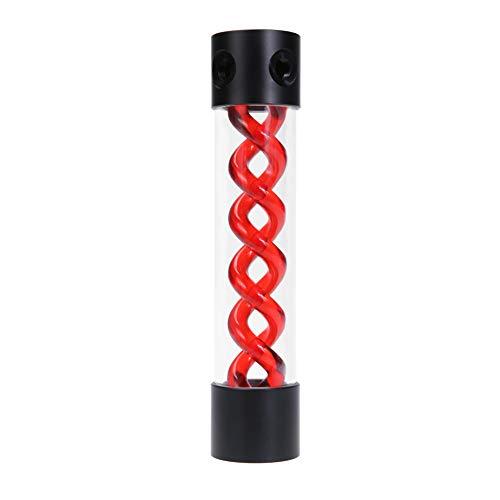 Asiproper 255mm T virus Rotary acqua serbatoio dell' acqua di raffreddamento per PC sistema di raffreddamento a liquido Red