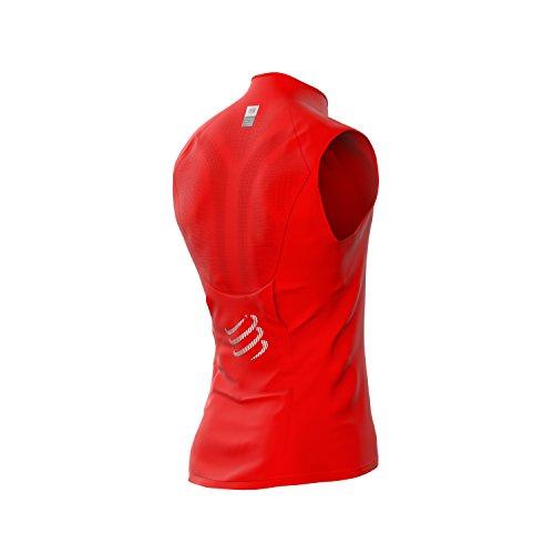 Photo Gallery webinero compress port hurricane vest v2corsa gilet di unisex running-protezione dal freddo e vento, rosso, xl