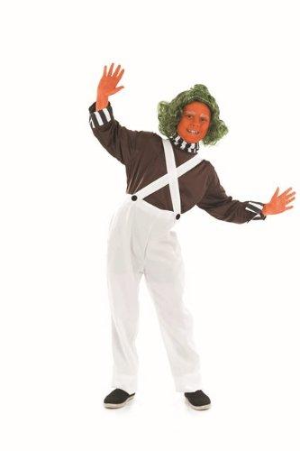 Oompa Loompa Kinder-Kostüm 124cms (Kostüme Für Kinder Loompa Oompa)