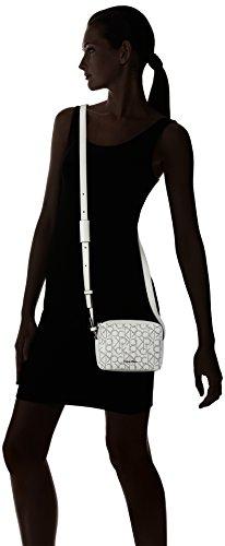 Calvin Klein K60K602513 Borse a spalla Borse e Accessori Bianco (White Monogram)