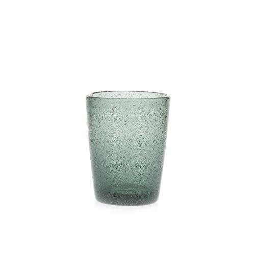 Wasserglas Trinkglas Saftglas Marco Polo Fairtrade Glas Ecoglas 250 ml (grau) - Marco Gläser