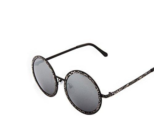 Tansle Damen Sonnenbrille Schwarz Schwarz