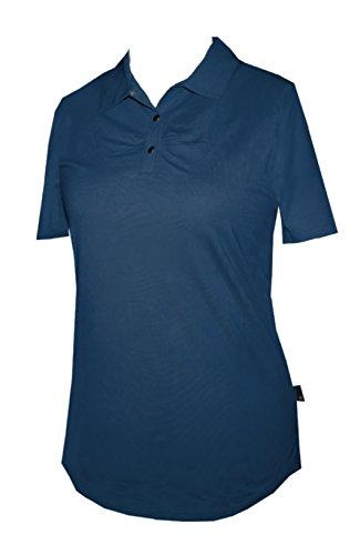 Schneider Sportswear Damen Polo Shirt Baumwolle Dunkelblau