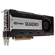 PNY VCQK6000-PB NVIDIA Quadro K6000 12GB - Tarjeta gráfica (NVIDIA, Quadro K6000, 3840 x 2160 Pixeles, 12 GB, GDDR5-SDRAM, 384 Bit)
