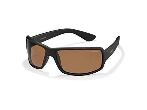 Polaroid Herren Sonnenbrille schwarz matte black