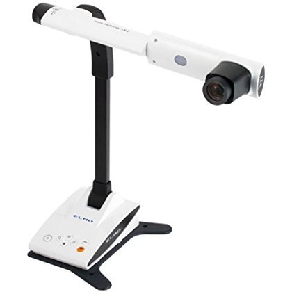 Elmo 1353 Model LX-1 Visual Presenter, 96x zoom capability, HDMI output and a specially crafted lens for full HD image quality, Captures moving images at 30fps for truly smooth natural movements