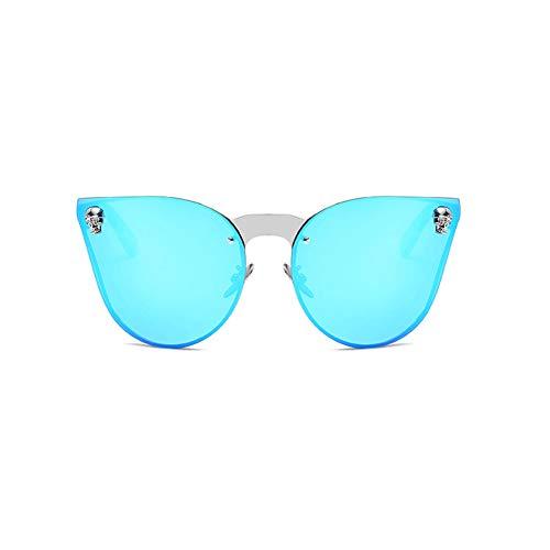 Li Kun Peng Sonnenbrillen Spiegel Pfoten Aus Metall Geschnitzt Abriebfeste Leichte Sonnenblenden Anti-UV-Retro-Sonnenbrille,G