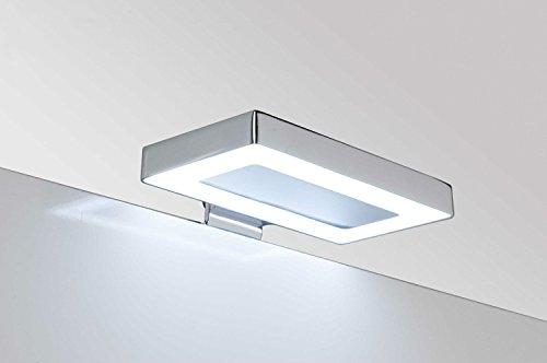 LAMPADA luce a LED applique CM 11,5 faretto specchio arredo bagno HYDRA