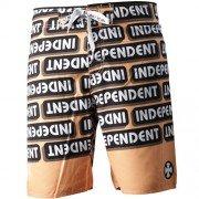 Independent Ad Bar Boardshorts Orange