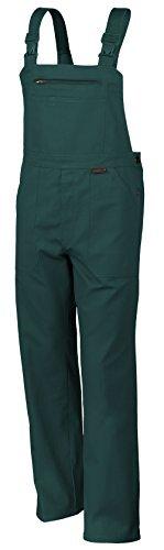 Qualitex Arbeits-Latzhose BW 270 - Größe: 44 - grün