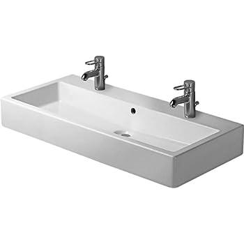 100 cm 2 robinets bassin Duravit Vero: Amazon.fr: Cuisine ...