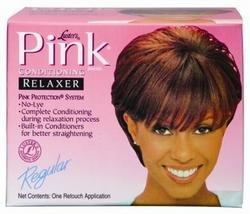 Lusters Kit de défrisage et de conditionnement Pink - Sans soude - Puissance normale