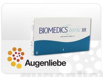 Biomedics Toric XR Monatslinsen weich, 6 Stück / BC 8.7 mm / DIA 14.4 mm / CYL -3.75 / ACHSE 170 / -8 Dioptrien
