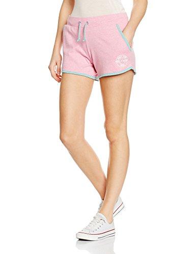 Intimuse Damen Sport Shorts, Rosa (Pink Melange 084), 38 (Herstellergröße: M) (Damen-kurz Baumwoll-jersey)