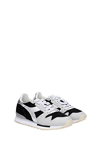 Diadora Sneakers Wildleder Gelb Heritage Schwarz Damen 2011705890135014 Eq4dE