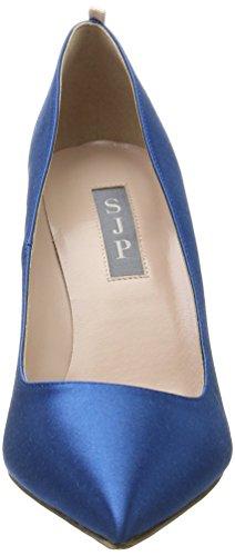 Sjp Par Sarah Jessica Parker Fawn, Chaussures Femme À Talon Bleu (imp 412 Satin)