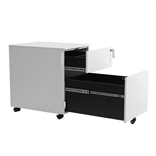 SONGMICS Mueble Archivador de Metal