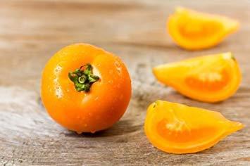 PLAT FIRM 108 mg Bio-Orange Banana Pate Tomatensamen ~ uperior Auce Tomate Non GMO
