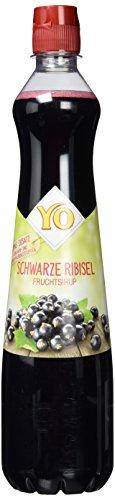 Yo Sirup schwarze Ribisel, 6er Pack (6 x 700 ml)