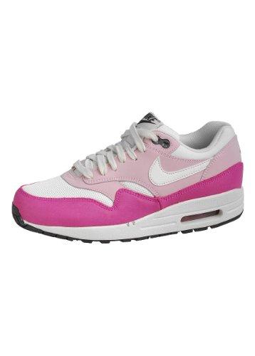 Nike, Wmns Air Max 1 Essential, Chaussures De Sport, Femmes Blanc - Rose