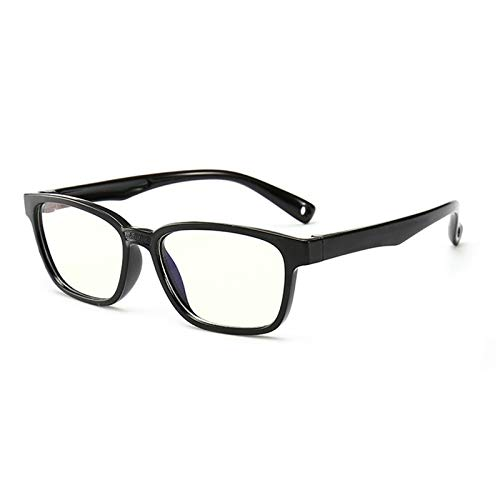 GPZFLGYN Anti-Blau Computer Gläser Anti-Fatigue Baby Anti-Blau Licht Silikon Brille Marke Kinder Weichen Rahmen Goggle Plain Brille Kids Eye Fame Eyewear Fashion