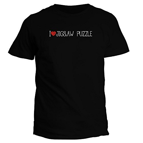Idakoos I Love Jigsaw Puzzle Cool Style - Ocio - Camiseta