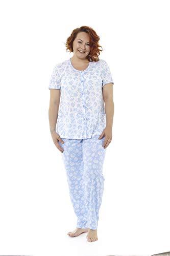Mabel Intima Pijama Manga Corta Pantalón Largo Estampado
