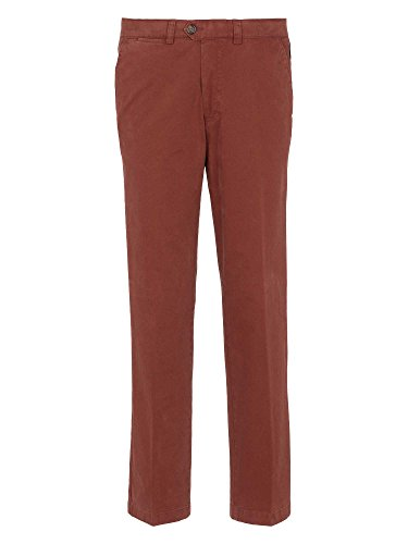 Atelier GARDEUR Uomini Pantalone chino Regular Fit Ruggine