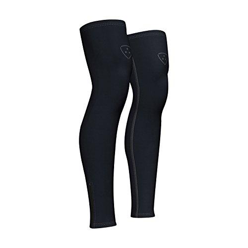 Perneras Calentadores de las piernas ropa ciclismo Color Negro