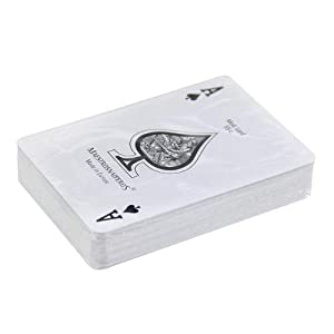 Maestros Naiperos- baraja Poker, clásico, 55, Cartas, encefalonada, Calidad Casino Popular, Color Azul y Rojo (130003094)