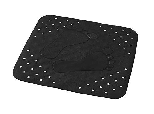 RIDDER Duscheinlage Plattfuß schwarz 54x54 cm