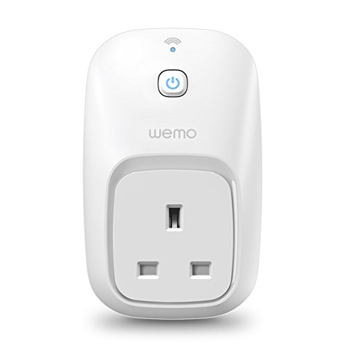 Belkin WeMo F7C027uk Switch Smart Plug (Wi-Fi Smart Plug, Control Lights and Appliances from Phone, Works with Amazon Alexa)
