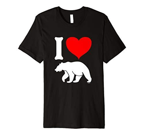 Herren I Love BEARS, I Heart Bears, LGBT T-Shirt Preisvergleich