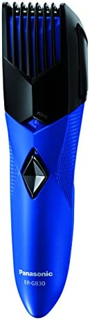 Panasonic ER-GB30-A44B Battery Operated Trimmer with 8 length Settings(Blue)