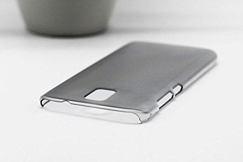 Crystal Edel Plastik Kunststoff Transparent Cover Schutzhülle für Umi Rome / Umi Rome X Smartphone Tasche Hülle Etui Case (Clear Schwarz)