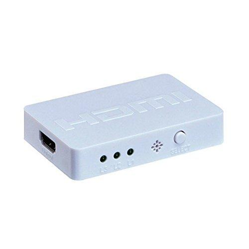 Generic 3 ports de haute qualit¨¦ en 3d 1080p hdmi auto switch switcher splitter hub box v1.4 by Generic A/v Switch Box