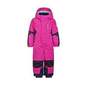 Killtec Mädchen Rompy Mini Skioverall / Schneeanzug mit Kapuze und Schneefang