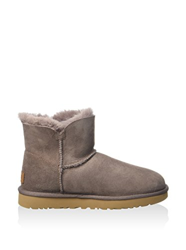 Ugg mini bailey button 1016422 sygr stormy grey