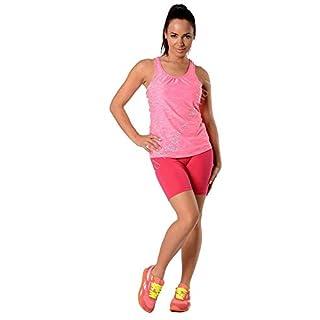 Leggings in 19 Farben Baumwolle, Lycra 1/2 Radlerhose Kurz, p930 Pink M/38