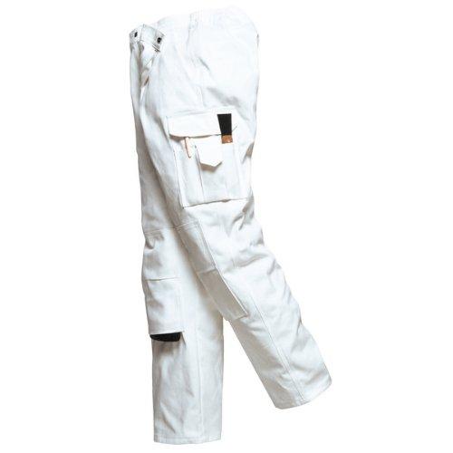 Portwest - Pantalon -  Homme Blanc Blanc -  Blanc - Blanc - Taille XXXL WhiteT