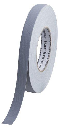 Scotch 9545N G19 Gewebeband, 1 Rolle, 19 mm x 50 m, grau