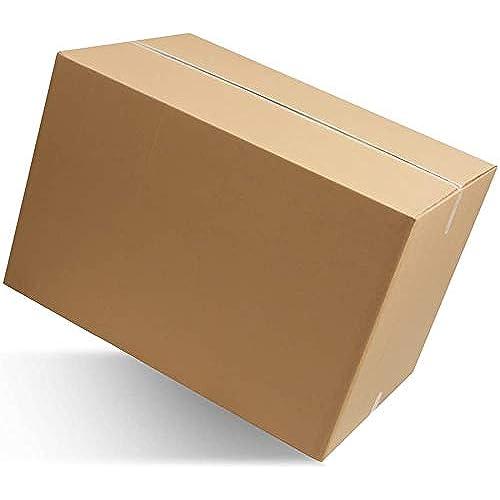 IMBALLAGGI 2000 - Scatoloni 40x30x30 cm - Scatola di Cartone Doppia Onda - Imballaggi per Spedizione e Trasloco - 1 Pezzo