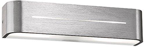 Post-leuchte (Wandleuchte Posta AP2 Aluminium von IdealLux)