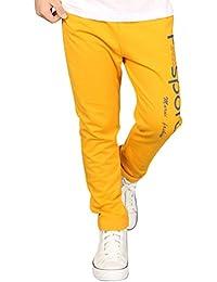 Shaoyao Niños Pantalones De Chándal De Jogging Deporte Entrenamiento Cintura  Elástico 21f0d4f5bf34